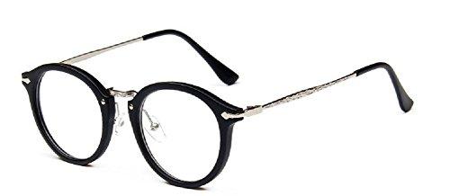 9580 sauvages plaine Embryform rondes lunettes Retro hommes les frame et miroir femmes religieux visage qnZUg7Rwn