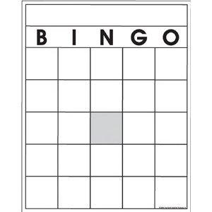 Blank Bingo Cards - Blank Bingo Cards