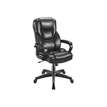 Amazon Com Realspace R Fosner High Back Bonded Leather