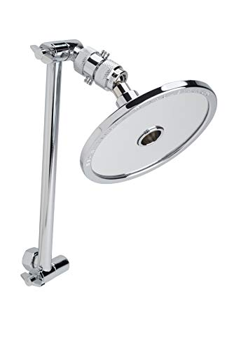 High Sierra's 1.5 GPM ''Reflections X'' Low Flow Shower Head and Fogless Shaving Mirror In One. Includes 10'' Adjustable Extension Arm and Control Valve. Available in CHROME or Brushed Nickel by High Sierra Showerheads