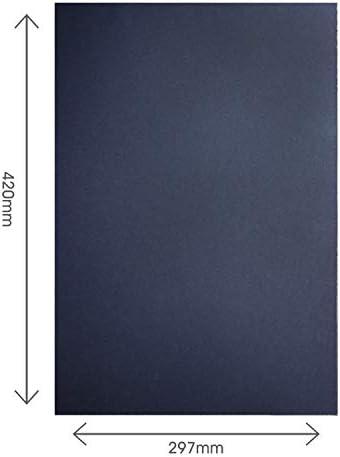 ArtWay - Cartoncino Riciclato - Alta qualità - Imballaggio in plastica - 270g/m² - Nero - A3-100 Fogli
