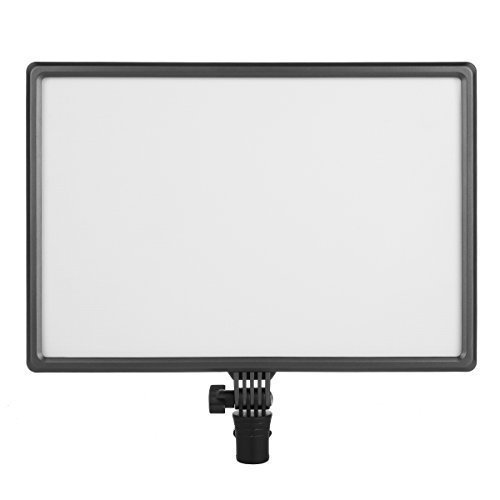 Nanguan CN-Luxpad43 Dimmable Ultra High power panel Photographic video Lightning bi-Color(3200K-5600K) led panel 112 LED Led video light for Canon Panasonic Sony Samsung and Olympus DSLR Cameras by Nanguan