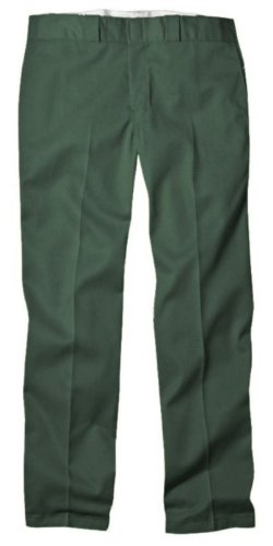 Dickies Men's Original 874 Work Pant, Lincoln Green, 36W x 29L (29 Green)