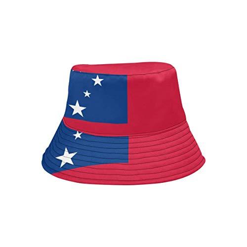 Pins Lapel Samoa (Lumos3DPrint Samoa Flag Unisex Boonie Safari Fishing Bucket Hat)