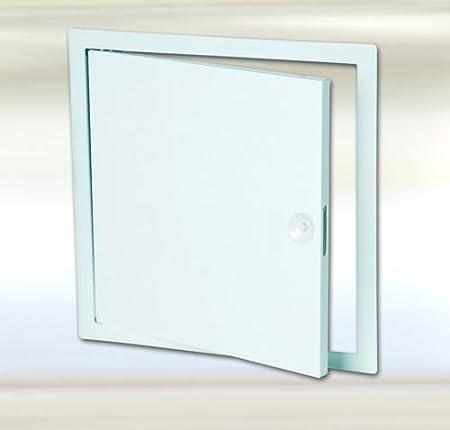 FF Systems España   Trampillas metalicas  Puerta de inspeccion todos los tamaños   Placa metálica para pared   Puerta de contadores   Compuerta de revision con cierre click   40 x 40 cm