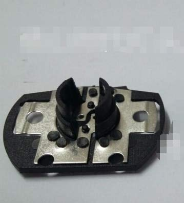 Kamas 100pcs PH19W lamp socket light holder for auto light bulb - (Color: Black, Base Type: ph19w)