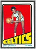 1972 Topps Regular (Basketball) Card# 131 don chaney of the Boston Celtics Ex Condition