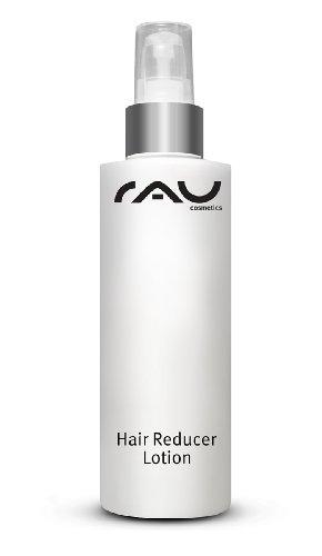 Enthaarungscreme mit Aloe Vera und Urea - RAU Hair Reducer Lotion 200 ml - verzögert das Nachwachsen unerwünschter Körperhaare - Ergänzt IPL Haarentfernung