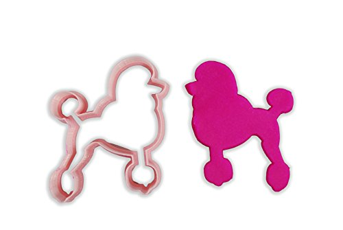 Poodle Dog Breed Cookie Cutter - LARGE - 4 Inches