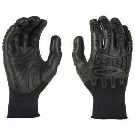 Mad Grip Thunderdome Impact Glove, Black, L, PPTBLKRL, (Pack of 5) (PPTBLKRL)