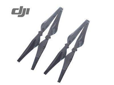 4 Pcs DJI Original Inspire Quick Release Propeller (CW+CCW) for Inspire 1 1345T, Inspire 1 V2.0 and Inspire 1 Pro - Black from DJI