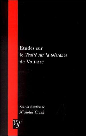 Download Etudes Sur Le Traite Sur La Tolerance De Voltaire (VIF) (French Edition) pdf epub
