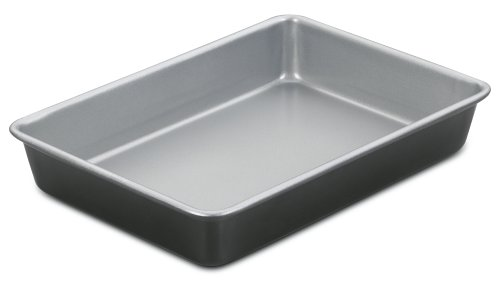 Cuisinart AMB-139CP 13 by 9-Inch Chef's Classic Nonstick Bakeware Cake Pan, Silver by Cuisinart
