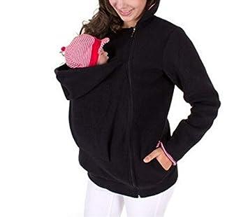 Ayamababy Multi-Funcional Madre Abrigo de suéter Canguro de Las Mujeres, Chaqueta de Canguro