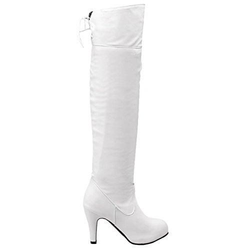 White Classic Women's AIYOUMEI AIYOUMEI White White Women's Classic Boot AIYOUMEI Classic Boot AIYOUMEI Women's Boot qC6RZ6ag