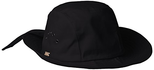 Betmar Knotted Cloche, Black, One Size Fits Most by Betmar