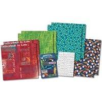 Bulk Buy: Karen Foster Design (2-Pack) Scrapbook Page Kit 12in. x 12in. Volleyball Is Life KF20525