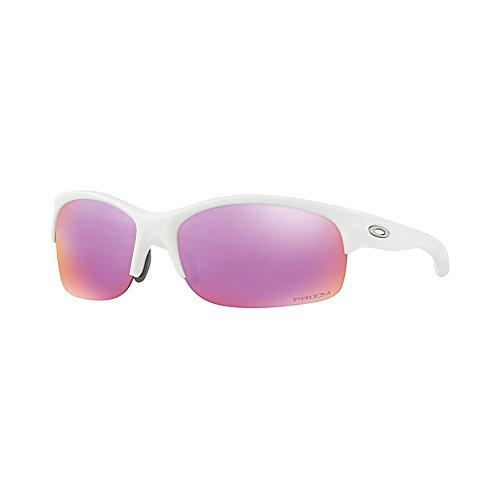 Oakley Commit SQ Sunglasses Polished White / Prizm - Oakley Womens Golf