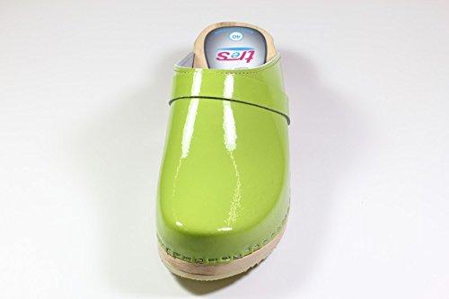 giiuro Original tres verde queiie zoccoli chiaro Eden Hxfqx840