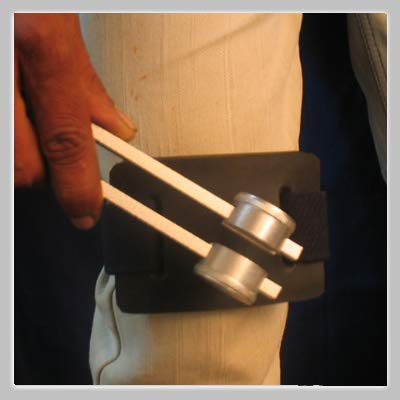 Professional Leg Rubber ACTIVATOR Accessory for Tuning Fork by Tuningforkshop (Image #1)