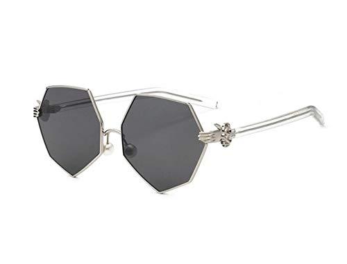 de sol UV400 Mujeres Grey conducción de la Gafas sol Eyewear manera gafas Hombres protectoras de FlowerKui de FqAHtqO