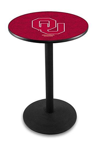 Oklahoma Sooners Pub Table (Holland Bar Stool L214B Oklahoma University Officially Licensed Pub Table, 28