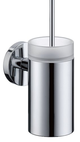Hansgrohe 40522000 S and E Accessories Toilet Brush with Holder, Chrome