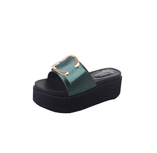 De Plage YUCH pour Green Femmes Chaussures AEEnw5qU
