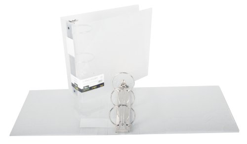 Filexec 3-Inch 3 Ring Binder, Clear, Pack of 2 (50300-64253)