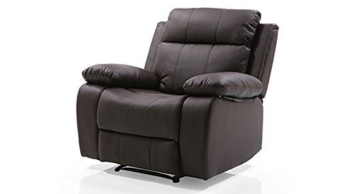 536e0143b7 Urban Ladder Robert Recliner (Colour : Chocolate Brown Leatherette):  Amazon.in: Home & Kitchen