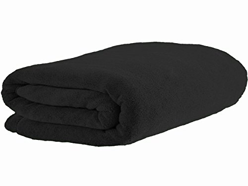 Luxury Microfiber Extra Large Bath Towel Beach Bath Sheet Fast Drying Towel Soft Absorbent Towel(36 Inch X 72 Inch, Black)