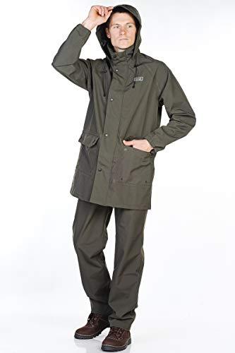 GRIZZLYMAN Men's Fishing Jacket and Trousers Norveg |100% Waterproof HardShell Membrane Fabric | UK Stock !