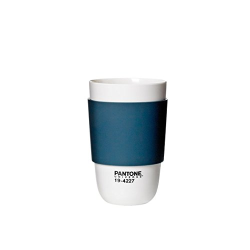 Pantone Universe Classic Cup with Silicone Band, Indian Teal