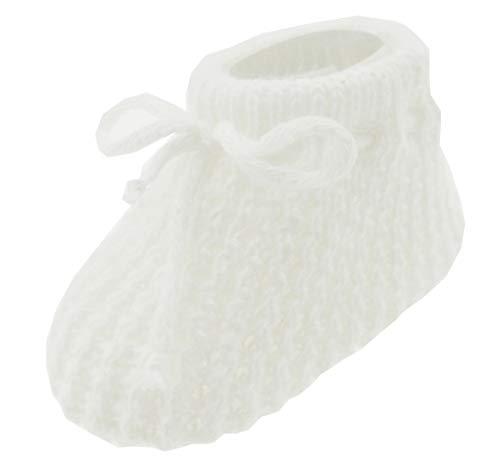 Mansuri Soft Touch Baby Boys Girls 1 Pair Pom Pom Baby Booties Newborn-3 Months Approx S408