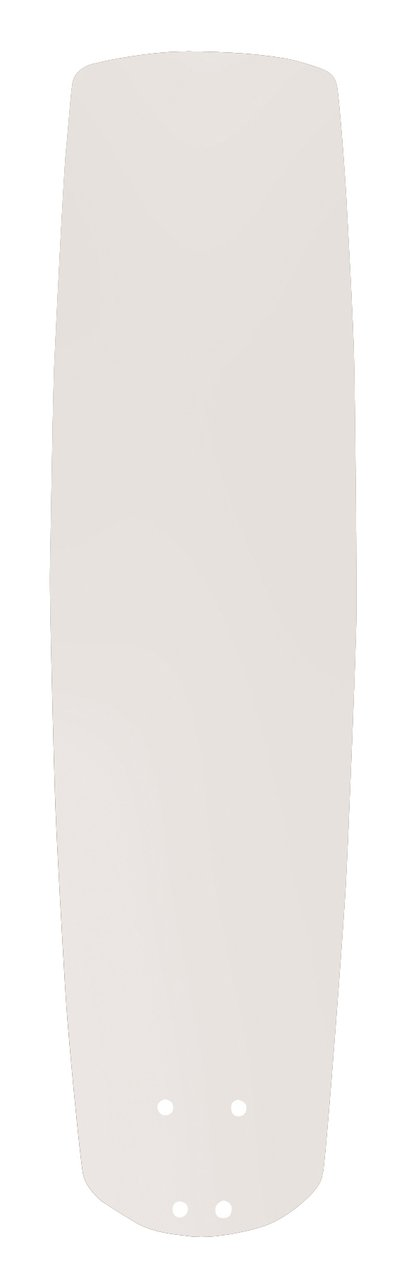 Emerson Ceiling Fans B77SW 22-Inch Solid Wood Indoor-Outdoor Ceiling Fan Blades, Satin White, Damp Location, Set of 5 Blades