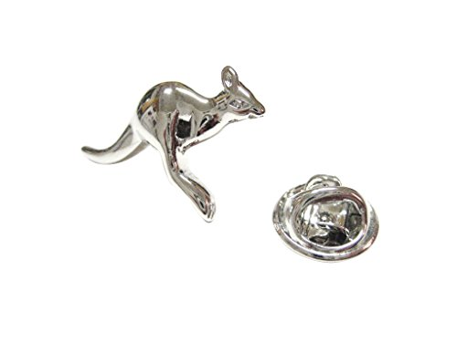 Kangaroo Pendant Lapel Pin