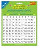National Numeracy Strategy Magnetic Numbers 1 to 100 plus +,-,x,÷ and = Key Stage 1