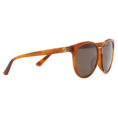 4a62c0a209e8b Gucci Women s Tortoise GG 3833 F S Brown Lens Sunglasses