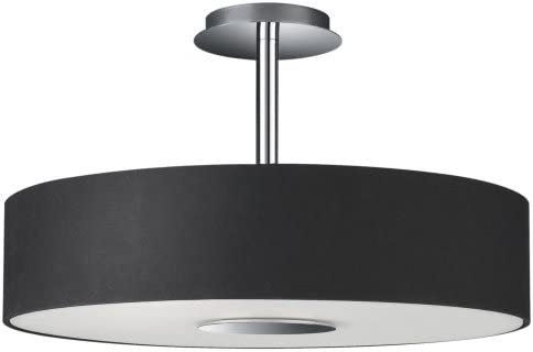 cheap for discount 7a58a 5d106 Philips 37481/30/48 Roomstylers Semi-Flush Ceiling Light, Black