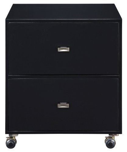 Sterling 6043291 Tamara Transitional Plantation Grown Hardwood File Chest, 26-Inch, Ebony