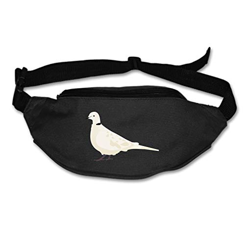 Bird Turtledove Running Waist Pack Bag Travel Sports Chest Pack for Hiking Climbing Men Women
