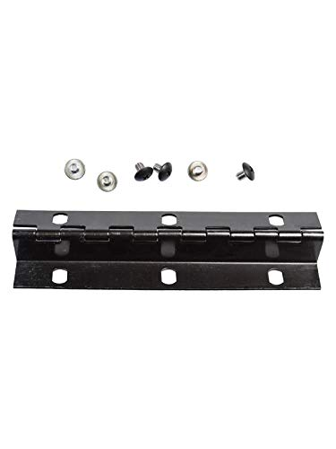 Imperial Mailbox - Imperial Mailbox Systems Door Hinge Size 6 Screw Holes Black (Small)