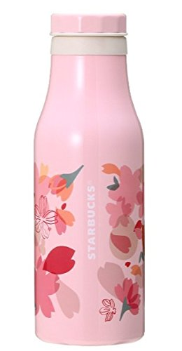 Starbucks SAKURA 2018 Variety petal stainless steel bottle 15.9 oz. from Japan by Starbucks