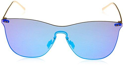 Lenoir Eyewear LE23.2N Lunette de Soleil Mixte Adulte, Bleu