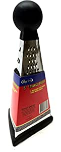 "Lunarland 8"" Triangle Grater 3 Different Cuts Use for Vegetables Fruit Cheese & More"