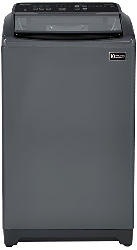 Whirlpool 7 kg Fully-Automatic Top Loading Washing Machine (WHITEMAGIC ELITE 7.0, Grey, Hard Water Wash)