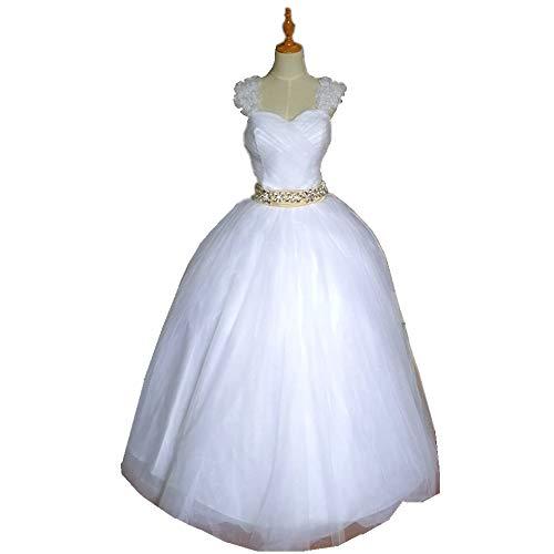 Fashion sweetheart Wedding Dress lace up princess draped crystal bow Wedding - Draped Crystal