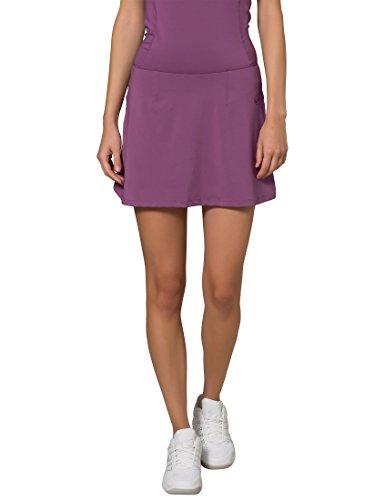 Ultrasport Damen Tennisrock Sydney Short, Lila, L, 12033