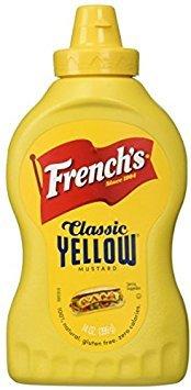 Frenchs Yellow Mustard - French's 100% Natural Classic Yellow Mustard - 2 Pack