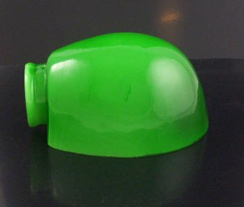 Upgradelights Smaller Green Pharmacy Lamp Shade Glass Replacement